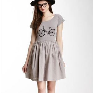 French Connection Bicycle Jersey Dress Sz 2